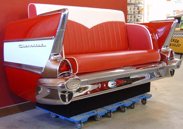 1957 Chevrolet 210 Rear End Car Couch