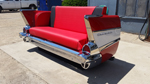 1957 Chevy 210 Rear Facing Couch -Side View