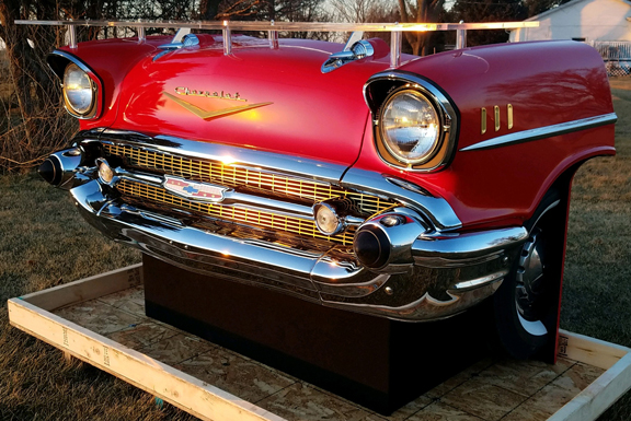 1957 Chevy Point of sale or Car Bar Display