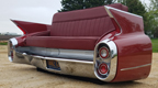 60 Cadillac Rear End Car Couch