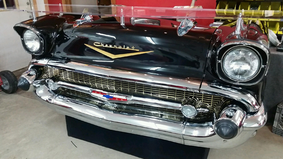57 Chevy Front End Display