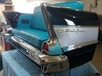 57 Chevy Bel Air Rear End Couch for the Hard Rock Hotel in Daytona Beach FL