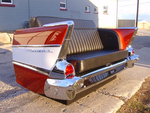 New Retro Cars : Restored Classic Car Furniture and Decor - American ...